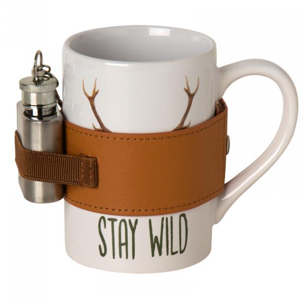 Porzellanbecher Stay Wild