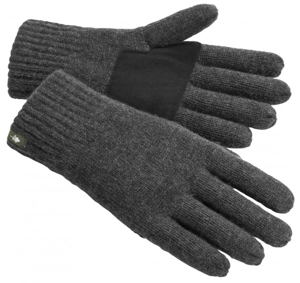 Pinewood Strick Handschuh Anthrazit