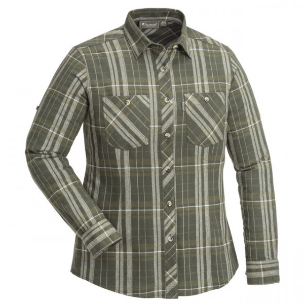 Pinewood Flanell - Bluse Felicia