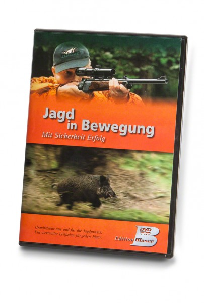 """Blaser DVD """"Jagd in Bewegung. Mit Sicherheit Erfolg"""""""