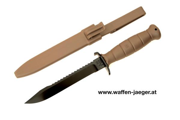 Glock Feldmesser 81 mit Säge Braun