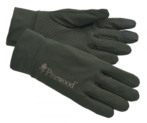 Pinewood Handschuh Thin Liner Grün