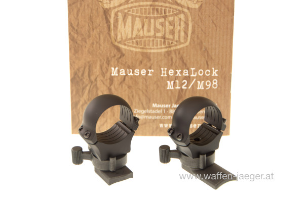 Mauser Hexa - Lock Montage Ringe