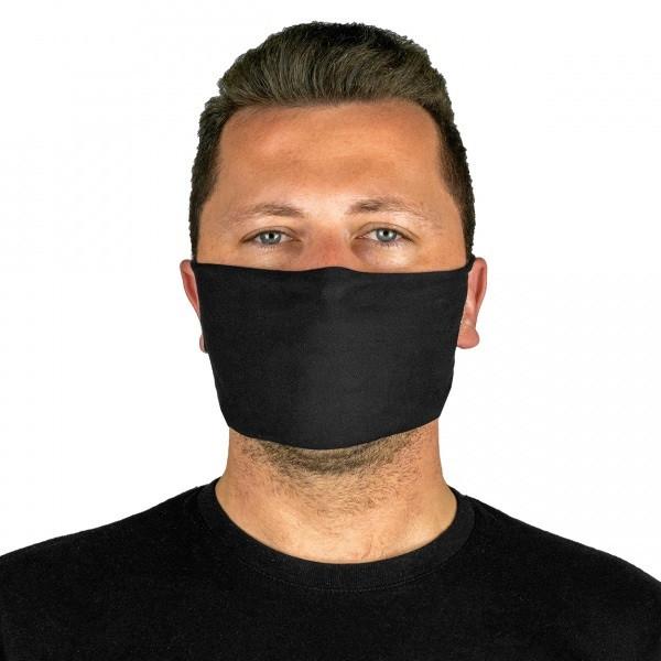 PAC Mund - Nasen - Maske Schwarz