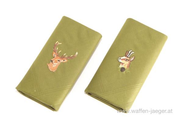 Taschentücher Jagdmotive in Geschenkpackung