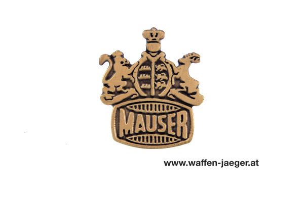Mauser Anstecknadel Goldfarben