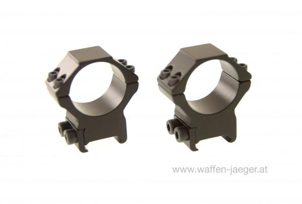Bauer ZF Montagesatz Picantinny Weaver Ø 30 mm Bauhöhe 14 mm