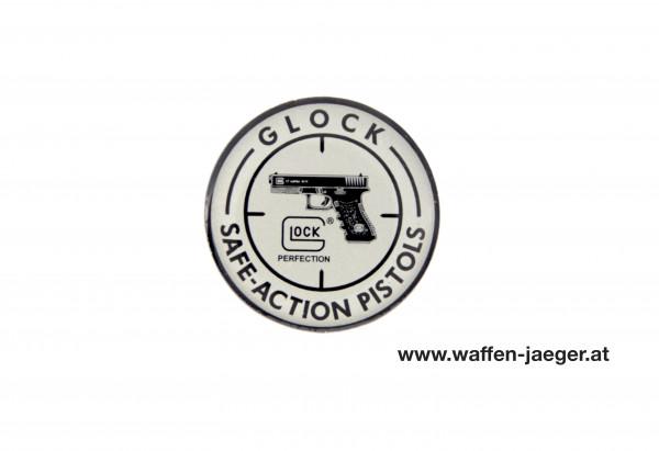 Glock Anstecker Silber