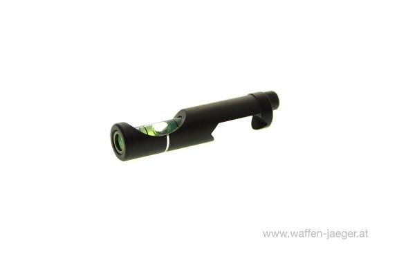 Wasserwaage für Weaver- und Picatinny Schiene 21 mm