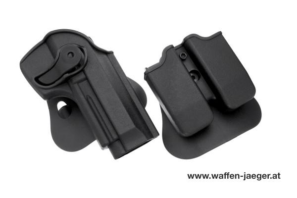 Set Holster & Magazintasche Beretta M 9/92/96/92FS