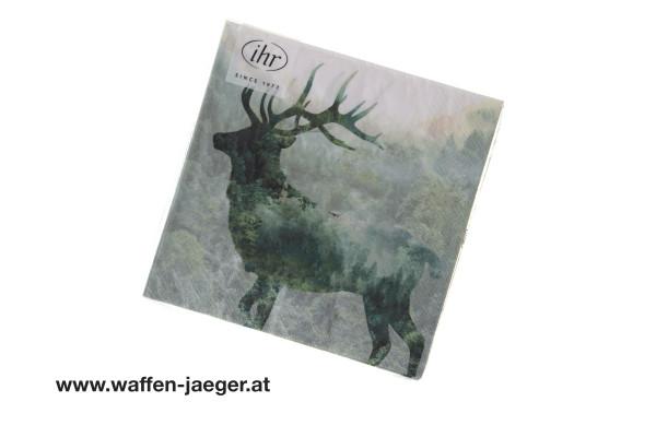 Jagdservietten Magic Deer