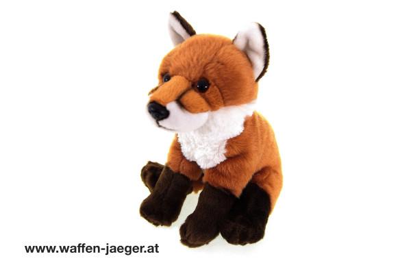 Kuscheltier Sitzender Fuchs