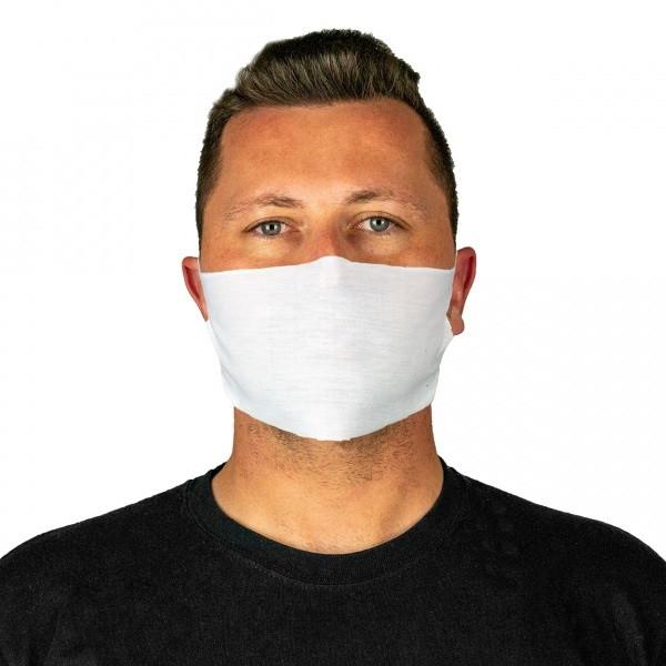 PAC Mund - Nasen - Maske Weiß