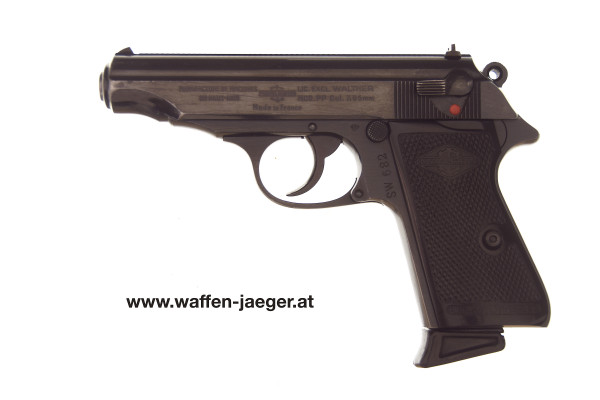 "Walther Mod. PP ""Manurhin"" Kal. 7,65 mm"