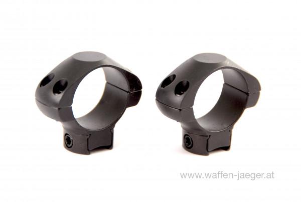 ZF-Montage Stahl für 11 mm Schiene Ø 25,4 mm