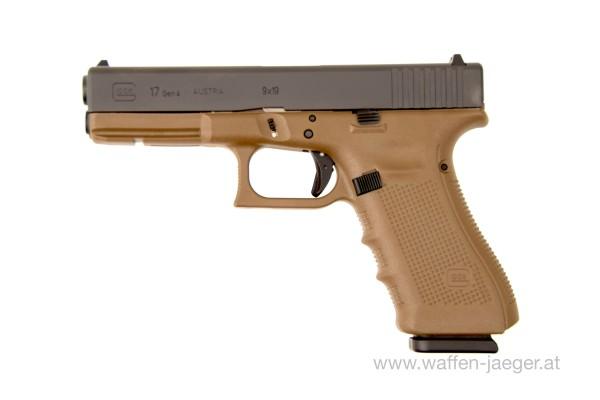 Glock 17 FDE Gen 4 Kal. 9mm