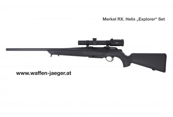 Merkel Explorer 9,3 x 62 Komplettangebot inkl. Meopta Medstar R2 1-6x24 RD