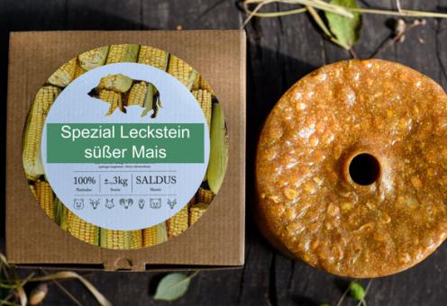 Wildlutscher Spezial Leckstein Süßer Mais