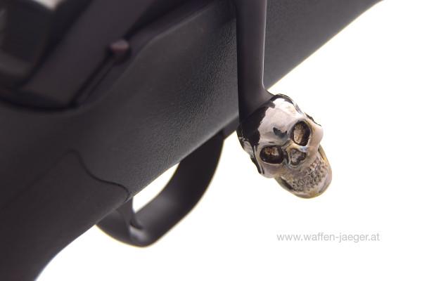 Kammergriffkugel Totenkopf für Blaser R8