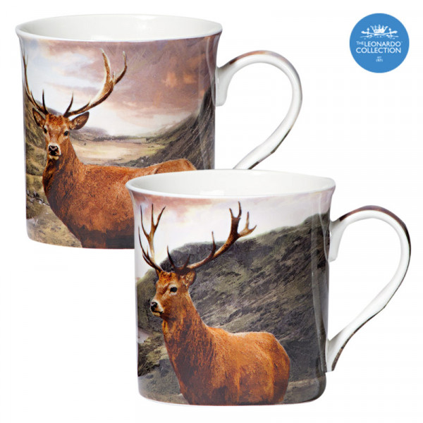 Kaffeebecher Highlands 2er Set