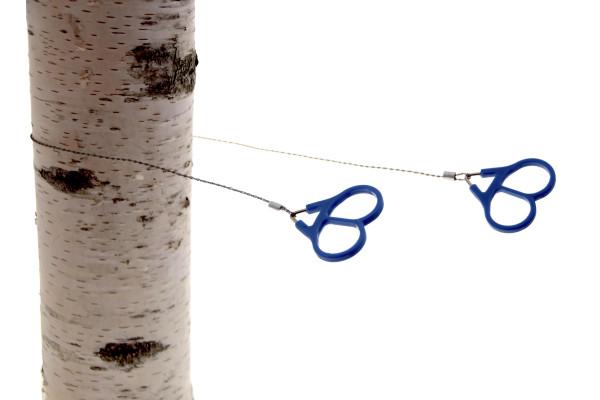 Handkettensäge Edelstahl mit Kunststoffgriff