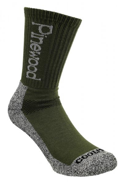 Pinewood Socken CoolMax Doppelpack Grün