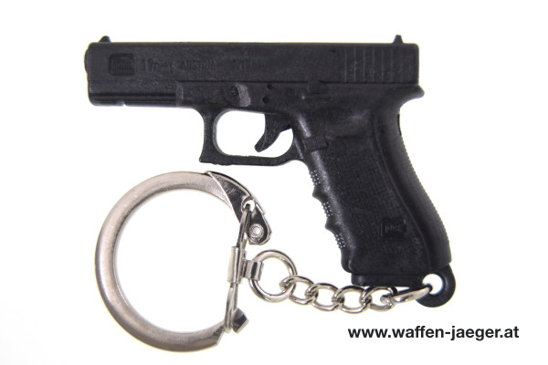 Glock Schlüsselanhänger Kunststoff